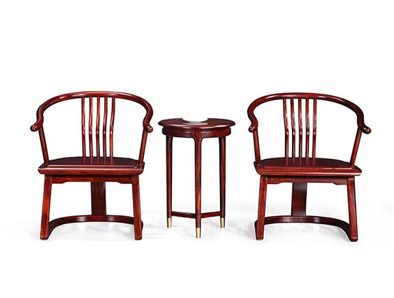 KY209书椅康锐家居新中式实木椅子