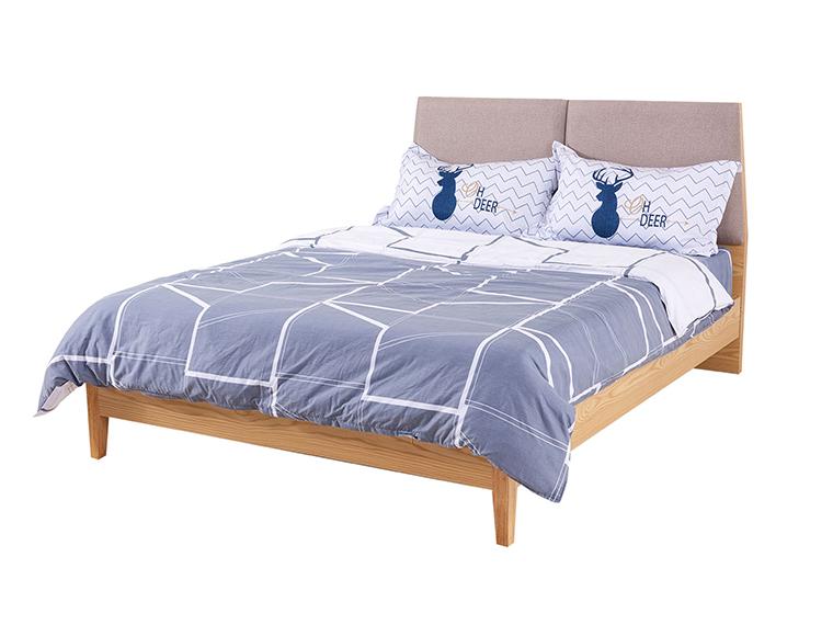 现代风公寓家具环保板式床