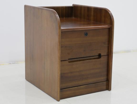 8E01-1海菲书桌副柜北欧风格实木副柜
