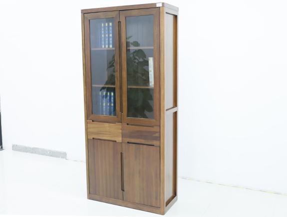 8F01海菲书柜北欧风格实木书柜