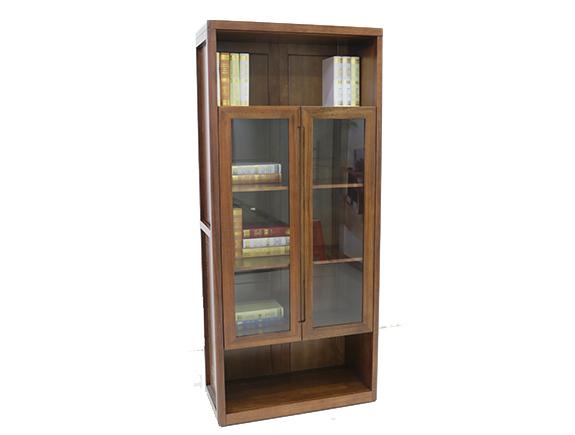 8F03海菲书柜北欧风格实木书柜