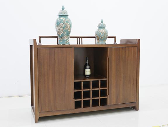 8J01海菲餐边柜北欧风格实木餐边柜餐柜