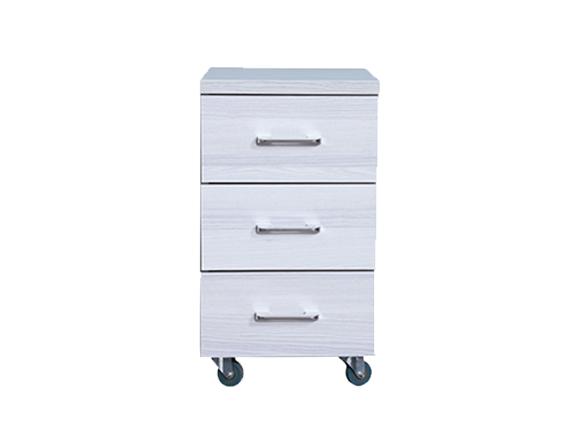 759佳林三抽柜现代风格斗柜收纳柜储物柜抽屉柜