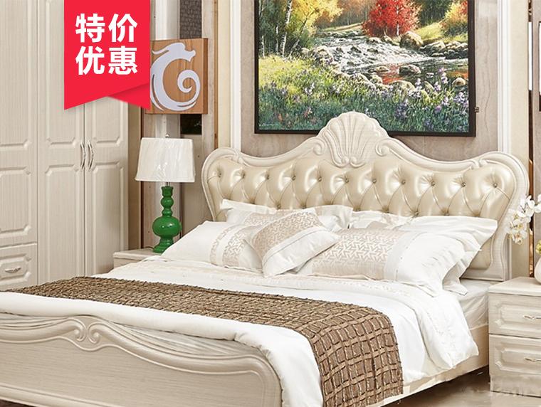 CR04床欧风韩雨简欧风格软包床