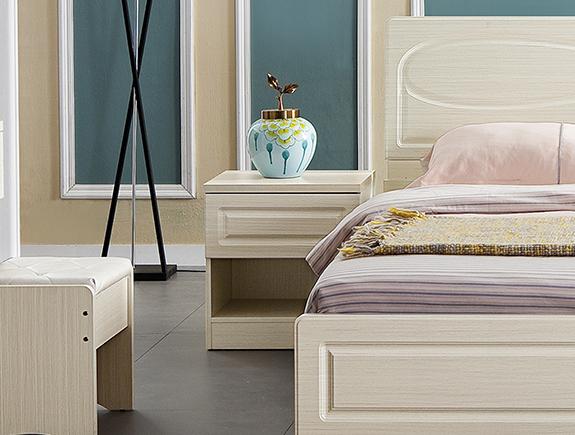 CG-TA森床头柜简欧风格板式床头柜