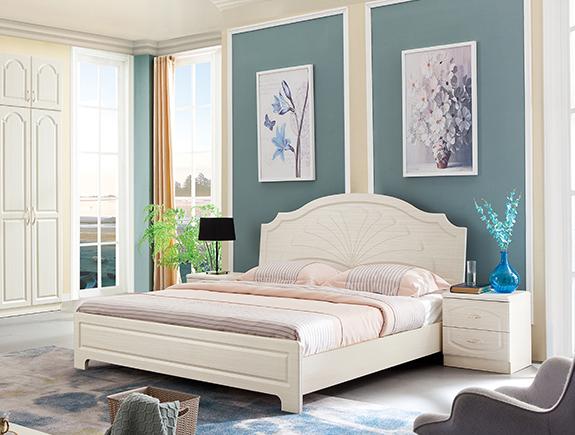 CY08-1.8A森床简欧风格板式床