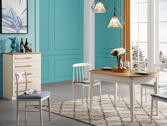 B10餐椅克罗地亚地中海风格实木椅子