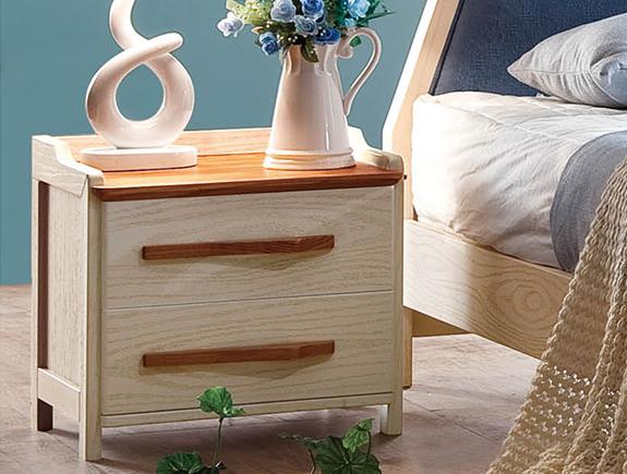 B02克罗地亚床头柜地中海风格收纳柜小柜子