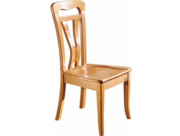 A-029尚木餐椅北欧风格实木椅子