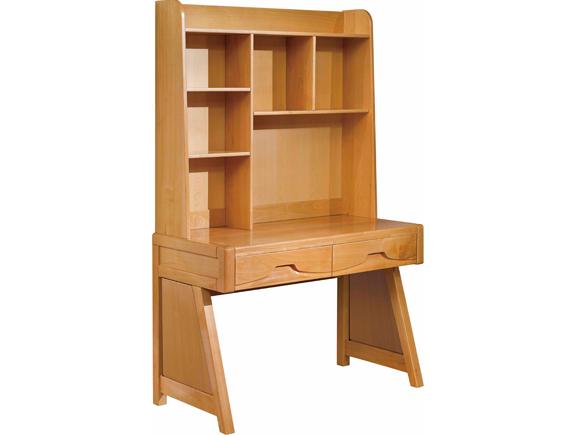 A-3015尚木书桌北欧风格实木书台电脑台