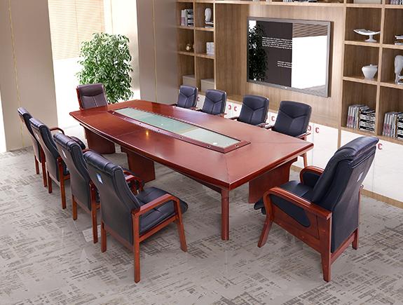 3207.649-kh8548会议桌油漆系列会议台