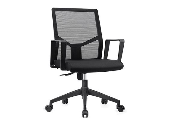 K008网布椅松宝大办公椅类会议椅职员椅