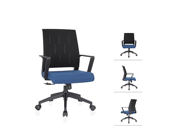 WB950+WB951网布椅松宝大办公椅类会议椅职员椅