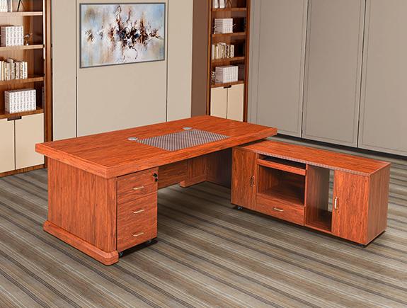 172.0502-HF722#班台油漆系列高管台办公桌