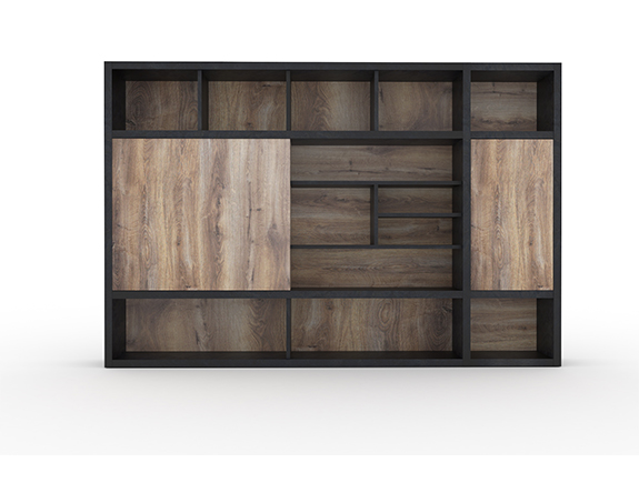 7067.1281-NS2805文件柜胶板系列展示架饰品柜