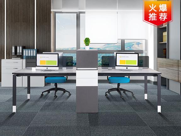 2069.6029-Y137屏风胶板系列屏风办公卡位办公桌