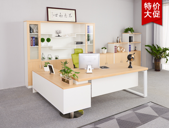 7005.5272-BON-1214 -2.4米班台胶板系列办公桌高管台