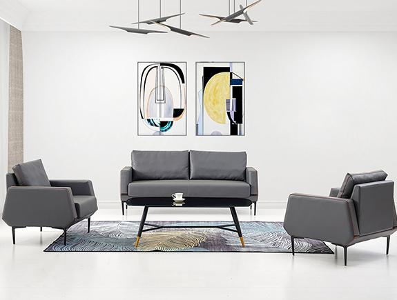 076.0153-YF-20111S沙发办公室用沙发1+1+3
