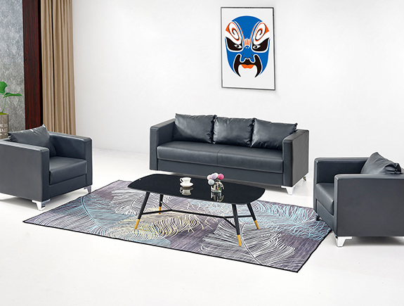 076.0156-YF-20112S沙发办公室用沙发1+1+3